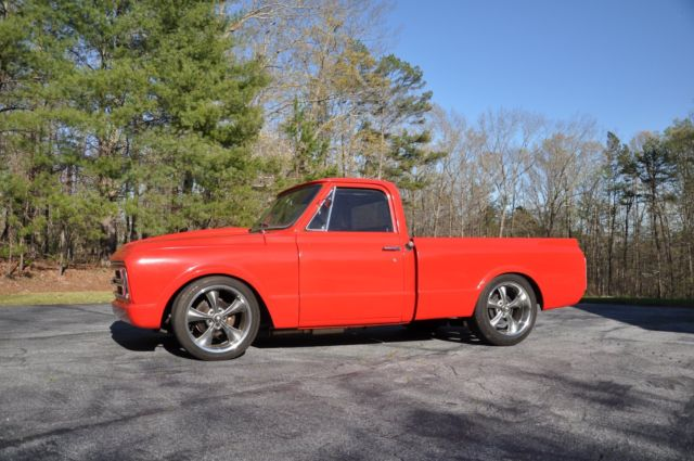 1967 Chevy C10 Shop Truck Classic Hot Rod Swb Small Back