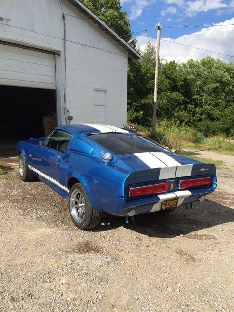 1967 Mustang Eleanor Wheel Size