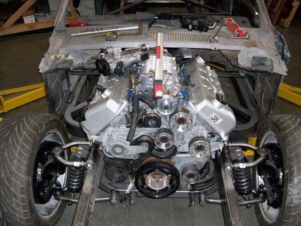 Terminator Mustang Engine Size