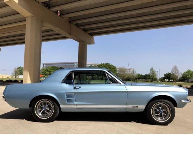 1967 Ford Mustang GT 390 GTA BIG BLOCK 1 OF 1 DELUXE INTERIOR 2694