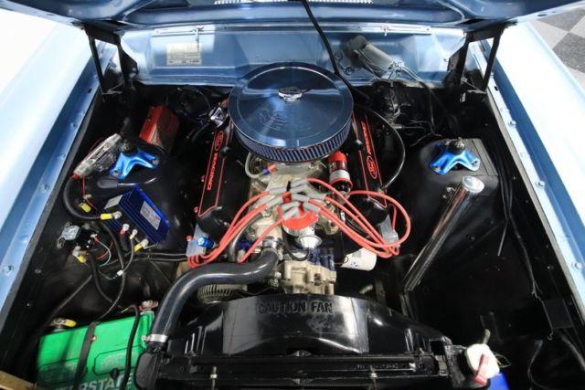1967 Mercury Comet 89170 Miles Blue Coupe 351 Windsor V8 3