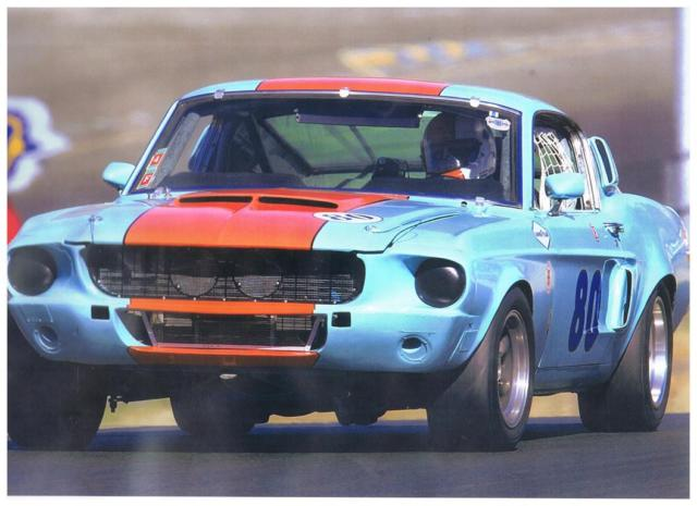 1967 Shelby GT500 (GT350 race history, Small Block equipped