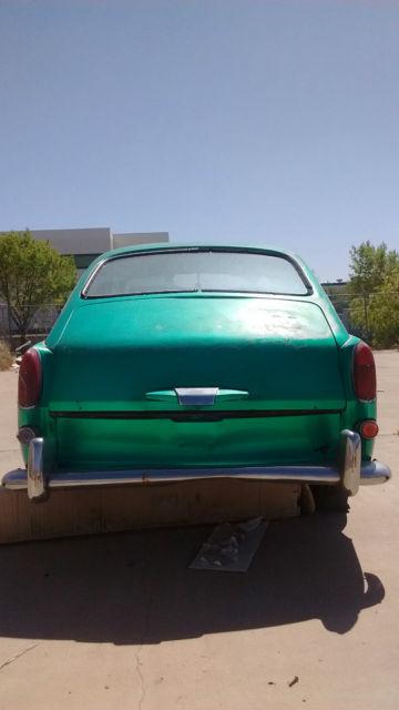 1967 Volkswagen Fastback Base 1 6L for sale in El Paso