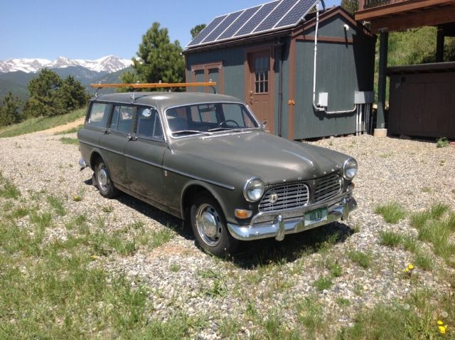 1967 volvo 122 station wagon air overdrive for sale in denver colorado united states. Black Bedroom Furniture Sets. Home Design Ideas