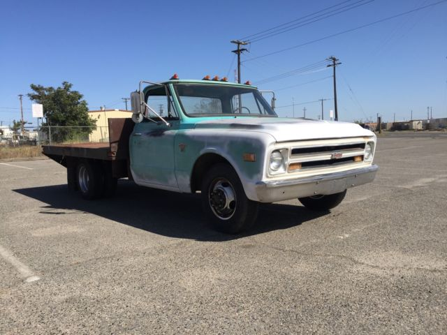 1968 chevy c 30 1 ton dually flatbed 2wd c30 shop truck for sale in fresno california united. Black Bedroom Furniture Sets. Home Design Ideas