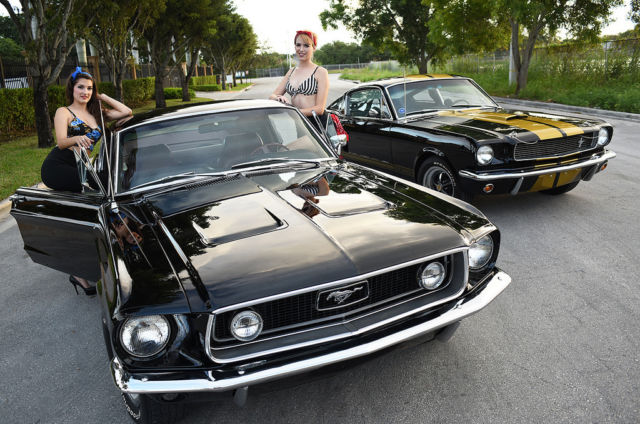 1968 ford mustang fastback gt not shelby gt500 cobra 1966 1967 eleanor mach1 for sale in miami. Black Bedroom Furniture Sets. Home Design Ideas