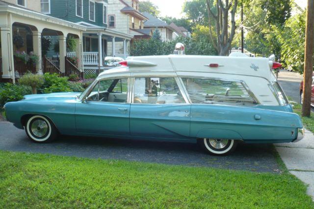 1968 Superior Pontiac Bonneville Ambulance for sale in