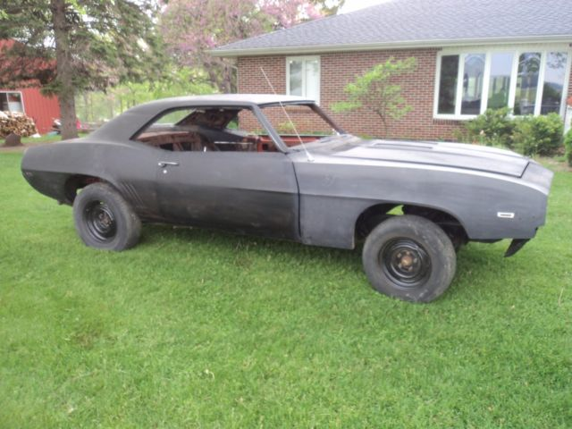 1969 CAMARO 4 SPEED PROJECT CAR BARN FIND 350 327 396 427 NHRA COPO Pro Touring