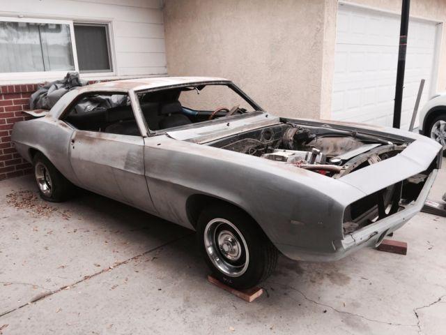 1969 camaro ss 350 project car for sale in long beach california united states. Black Bedroom Furniture Sets. Home Design Ideas
