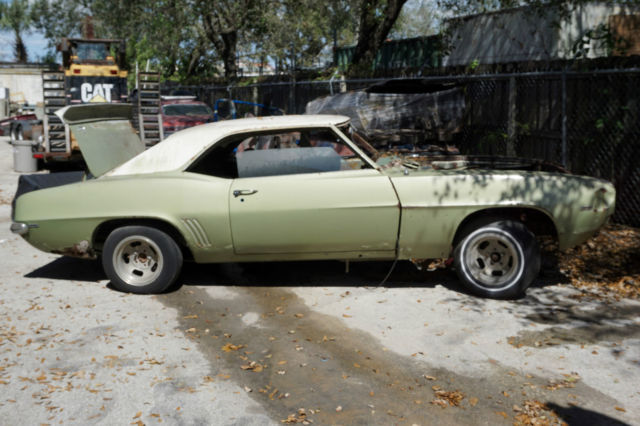 1969 chevrolet camaro hardtop 2 door rs project car for for West palm beach motor vehicle registration