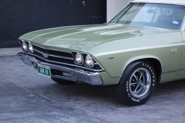 1969 Chevrolet Chevelle SS, 396/325 HP, matching numbers, AC