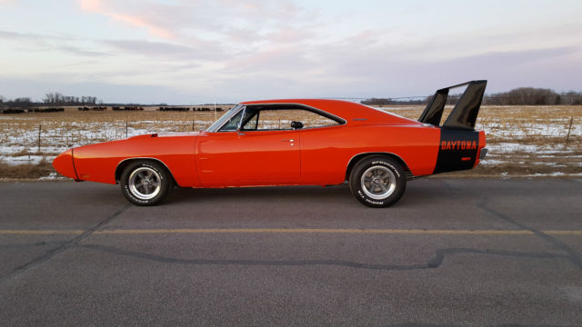 1969 Dodge Charger Daytona R4 Red 440 Rt 500 Tribute Clone