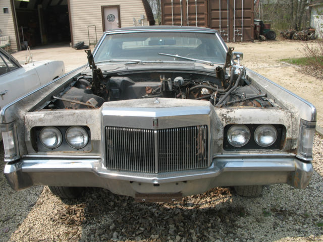 1969 lincoln continental mark 3 for parts for sale in st. Black Bedroom Furniture Sets. Home Design Ideas