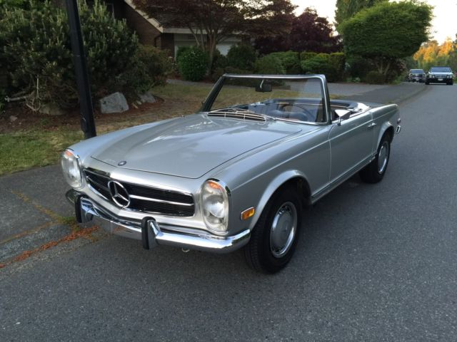 1969 mercedes benz 280 sl pagoda for sale in seattle for Mercedes benz 280sl pagoda
