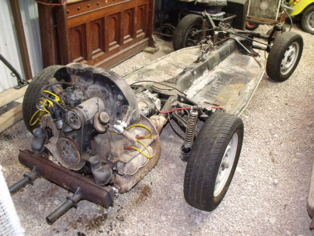 Vw Transmission For Sale >> 1969 Vw Beetle Rolling Chassis With Engine Transmission No