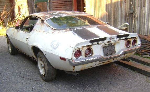1970 Camaro RS Z28 Project Car Original Engine Behind The Barn Find