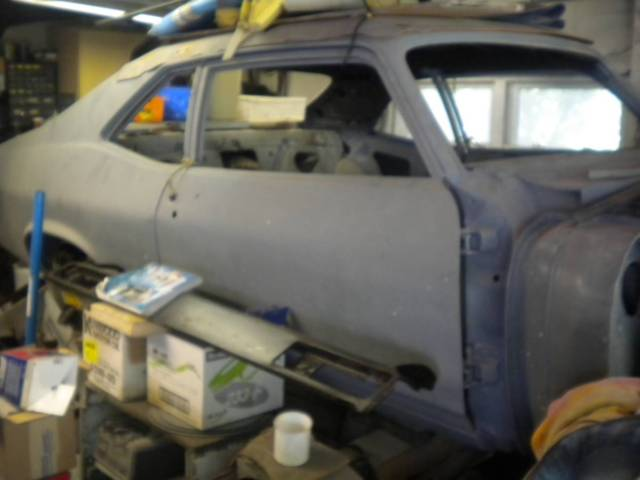 1970 chevy nova project car ready for paint muscle car hot