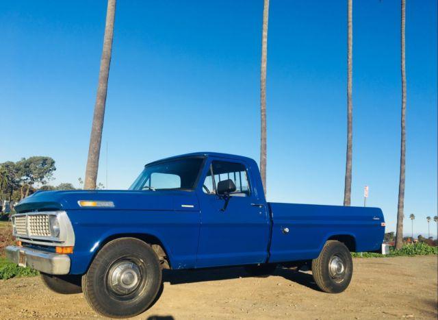 1970 Ford F250 Camper Special California Pickup Truck 360
