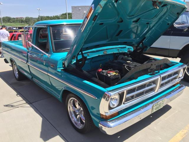 1975 Ford F100 Crown Vic Swap for sale in Aledo, Illinois