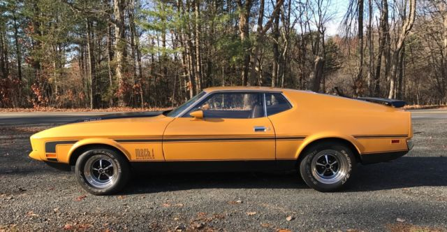 1971 Ford Mustang Fastback MACH 1 for sale in Lafayette ... Mustang Mach 1 Fastback 1971