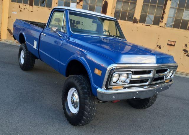 Chevrolet K20 4x4 For Sale >> 1971 GMC K2500 4x4, Original California Rust Free Truck No Reserve 4x4 k10,k20 for sale in ...