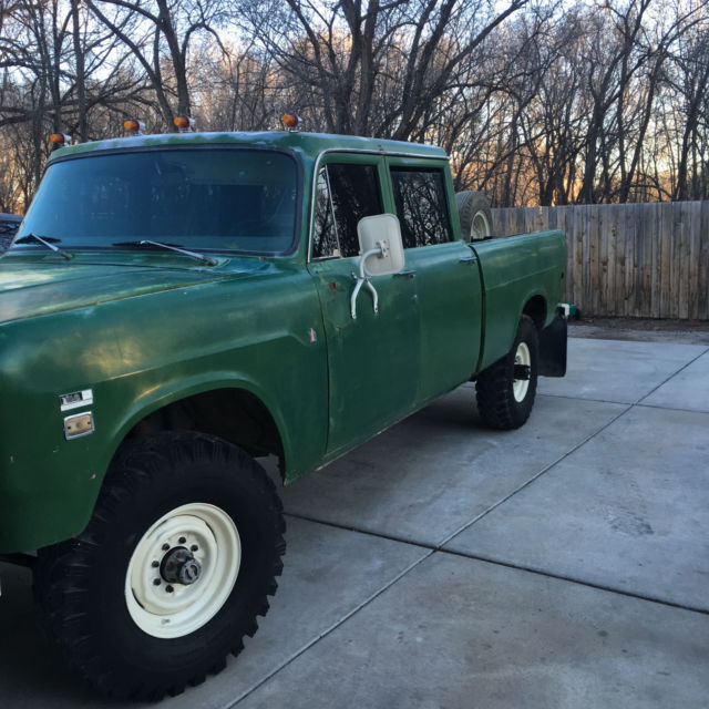 Travelette For Sale >> 1971 International 1210 Travelette 4X4 Crew Cab for sale in Corrales, New Mexico, United States