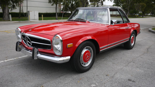 1971 mercedes benz 280sl pagoda for sale in miami florida for Mercedes benz for sale in miami