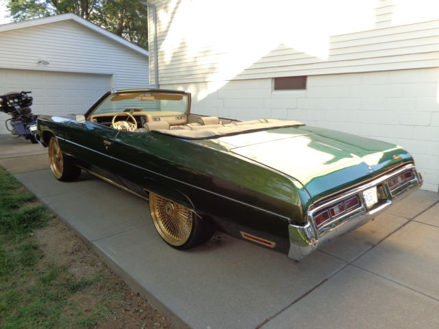 1972 chevrolet impala convertible custom for sale in omaha nebraska united states. Black Bedroom Furniture Sets. Home Design Ideas