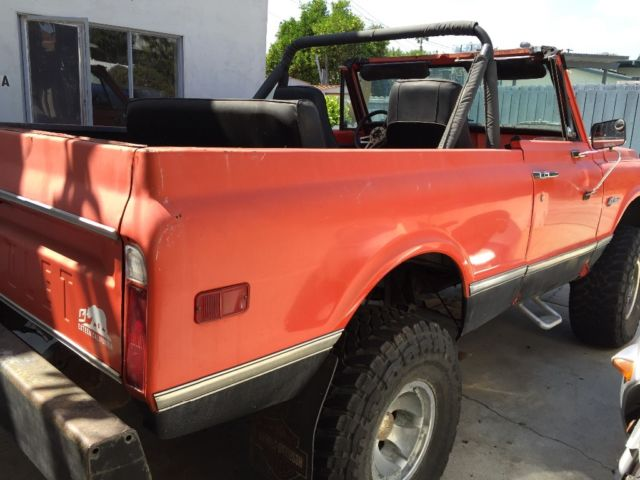 1972 chevy k5 blazer for sale in san diego california united states. Black Bedroom Furniture Sets. Home Design Ideas