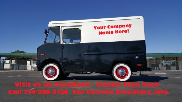 1972 chevy p10 step van, stepvan, shorty, p-10, aluminum ... chevy p10 wiring