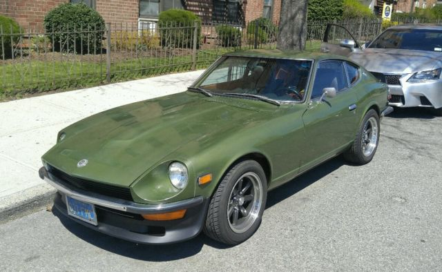 1972 datsun 240z blue plate california car for sale in bronx new york united states. Black Bedroom Furniture Sets. Home Design Ideas