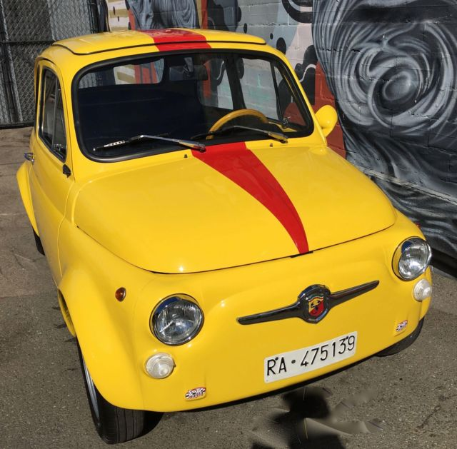 1972 Fiat 500 0 Miles Yellow For Sale In Oakland