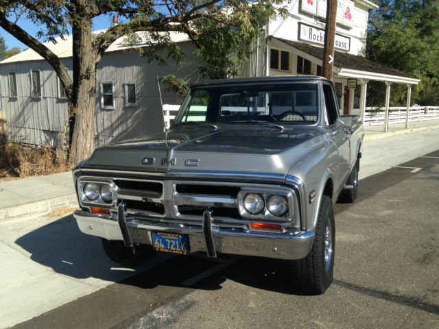 1972 gmc 3 4 ton 4x4 1 owner california truck chevrolet c k pickup 2500 for sale in rocklin. Black Bedroom Furniture Sets. Home Design Ideas