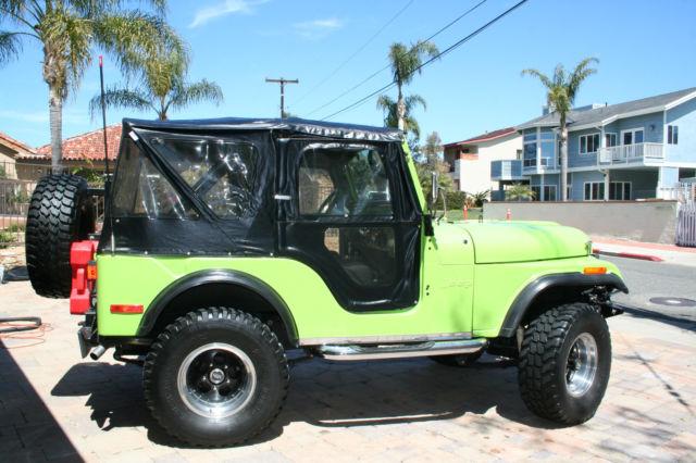 1972 jeep cj5 base sport utility 2 door 5 7 l for sale in capistrano beach california united