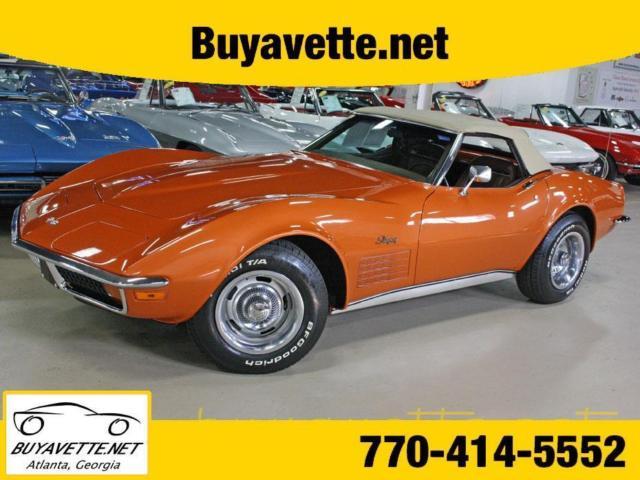 Ontario Orange Corvette Buyavette Inc Atlanta For Sale In Local - Buyavette car show