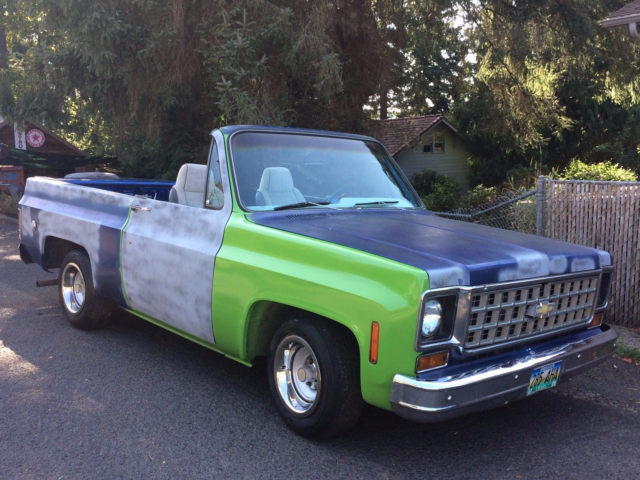 1973 Chevy K5 Blazer 2WD C10 Not Bagged No Air Rid Lowrider Full
