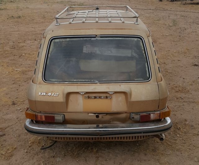 1973 Vw 412 Squareback Barn Field Find Az Car Very Rare