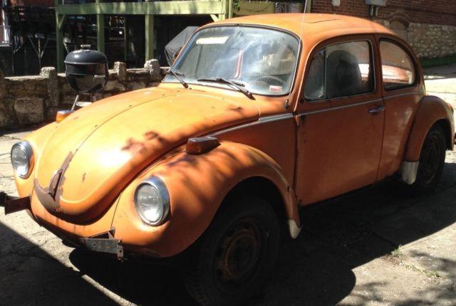 1973 VW Super Beetle w/sunroof for sale in Kansas City, Missouri, United States