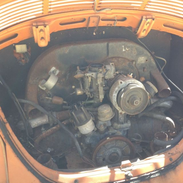 Vw Bug Engines For Sale Used: 1973 VW Super Beetle W/sunroof For Sale In Kansas City