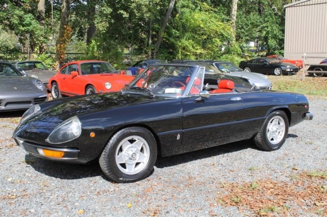 Alfa Romeo Spider For Sale In Peapack New Jersey United - Alfa romeo spider 1974 for sale