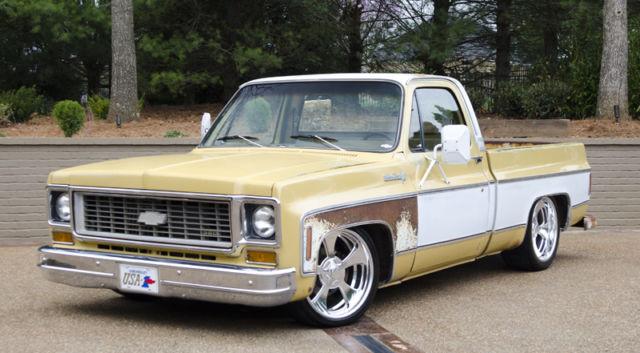 1974 Chevrolet C10 Shop Truck Silverado Patina Ls