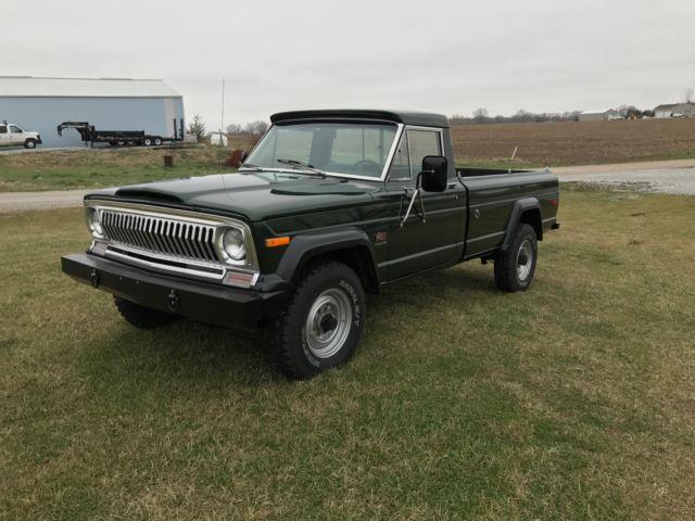 1974 jeep j20 gladiator pickup 4x4 for sale in eagle nebraska united states. Black Bedroom Furniture Sets. Home Design Ideas