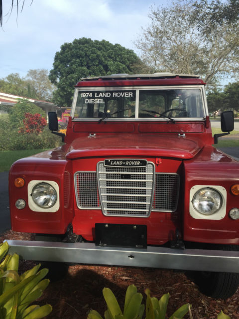 1974 land rover 88 series iii diesel full restoration for sale in miami florida united states. Black Bedroom Furniture Sets. Home Design Ideas