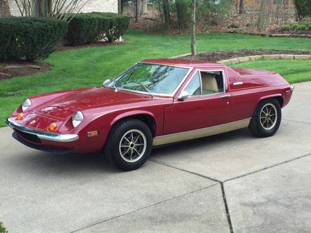 1974 LOTUS EUROPA TWIN CAM SPECIAL Out of Long Term Storage 8944
