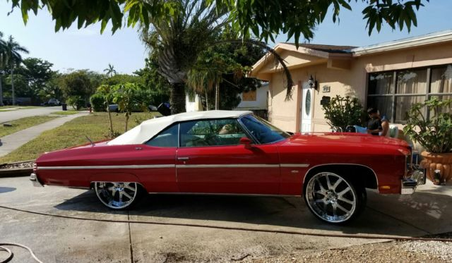 1975 Chevy Caprice, Convertible 2-door for sale in Fort Lauderdale