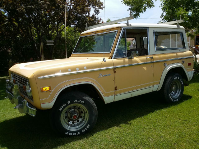 1975 Ford Bronco Ranger Factory 302 V8 Automatic 4x4 For
