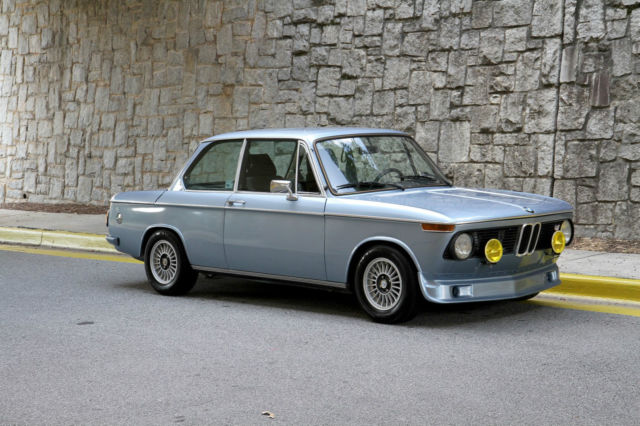 1976 Bmw 2002 Fjord Blue 5 Speed Manual For Sale In Atlanta Georgia United States