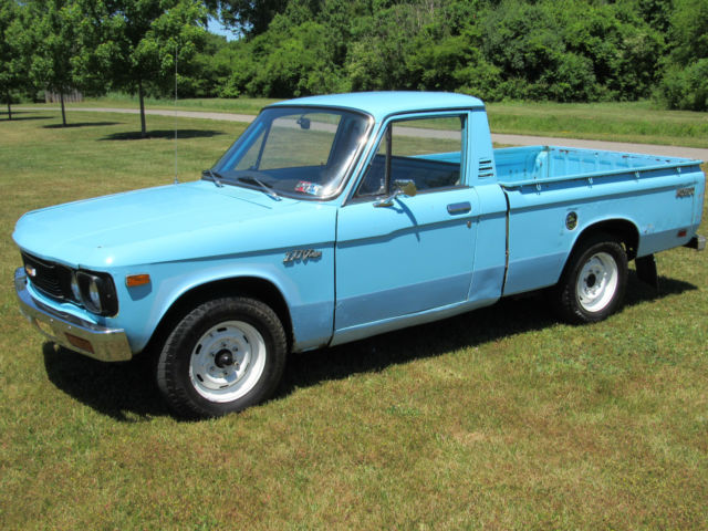 1976 chevy luv mikado 4 speed rebuilt 4cyl vintage classic economy small truck for sale in perry. Black Bedroom Furniture Sets. Home Design Ideas