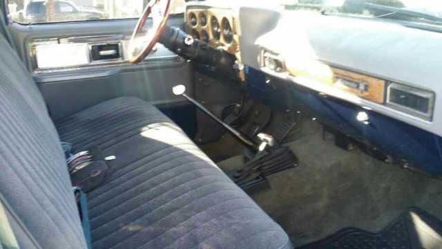 1976 Chevy Silverado 4x4 Short Bed 396 Bbc 5 Speed For