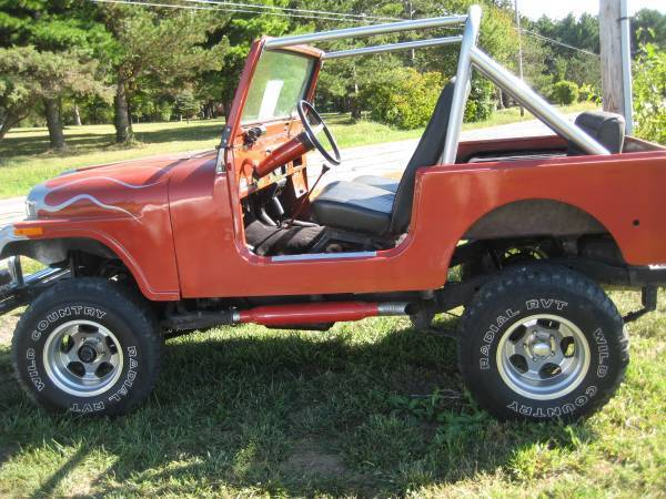 1976 JEEP CJ7 FRAME OFF RESTORATION for sale in Canal